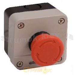Пост 1 - кнопочный Аварийный стоп XAL - J178 Укрем АсКо A0140020011