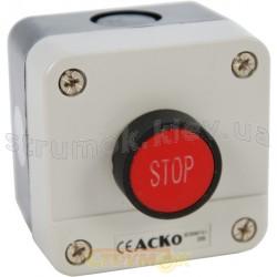 Пост 1-кнопочный Стоп XAL-В114 1NC АСКО