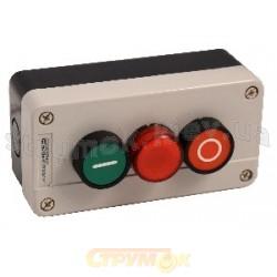 Пост 3 - кнопочный Старт-Стоп-Сигн. XAL -В373 Укрем АсКо A0140020009