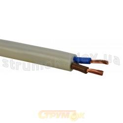 Медный провод ПВС 2х0,75 | кабель ПВС 2*0,75 экранированный гибкий, соединительный, многожильный