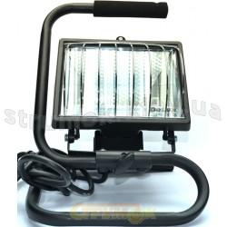 Прожектор переносной FDL-118 500W галогенный черный