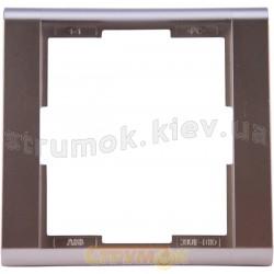 Рамка 1-постовая 3901F-A00110 08 ABB Time титан