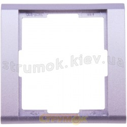 Рамка 1-постовая 3901F-A00110 31 ABB Time металлик / арктика