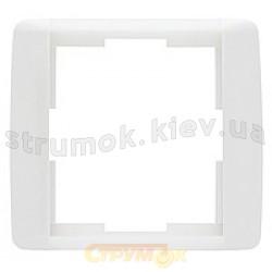 Рамка 1-постовая 3901F-А00110 Time element ABB Tango белый цвет