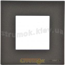 Рамка одинарная N2271 AN ABB Zenit антрацит