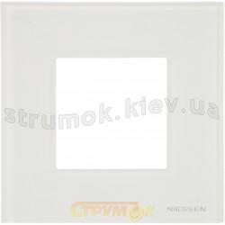 Рамка 1-постовая ABB Zenit N2271 ВL цвет альпийский белый