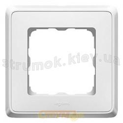 Рамка 1-постовая Legrand Cariva  773651 белый цвет