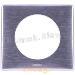 Рамка 1-ая Celiane Legrand 068921 алюминий