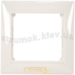 Рамка 1-постовая Legrand Valena 774451 белый цвет