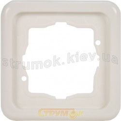 Рамка 1-постовая Regina Hager / Polo 13012112 белый цвет