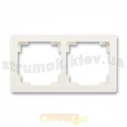 Рамка 2-постовая 3901J-A00020 C2 SWING ABB слоновая кость