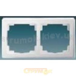 Рамка 2-постовая 3901J-А00020 В1 ABB SWING белый цвет
