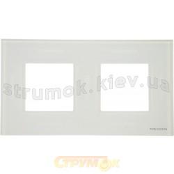 Рамка двойная N2272 ВL ABB Zenit альпийский белый