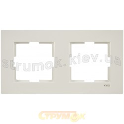 Рамка 2-постовая Viko Karre белый цвет 90960201