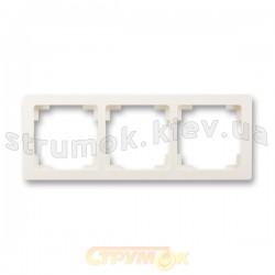 Рамка 3-постовая 3901J-A00030 C2 SWING ABB слоновая кость
