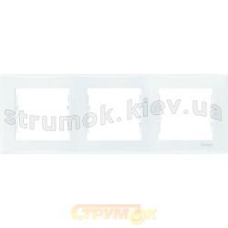 Рамка 3-кратная белая Sedna SDN5800521