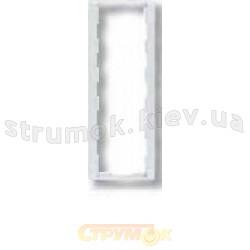 Рамка 3-постовая вертикальная 3901F-A00131 31 ABB Time арктик металлик