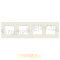 Рамка 4-постовая ABB Zenit N2274 ВL цвет альпийский белый