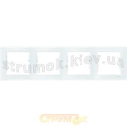 Рамка 4-кратная белая Sedna SDN5800721