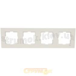 Рамка 4-постовая Viko Karre белый цвет 90960203