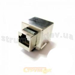 Разъем компьютерный екранированный RG-45 CAT-5E 11014701 Hager / Polo