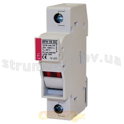 Разъединитель  предохранителя EFH 10 2P 25A 1000V DC ETI 002540203