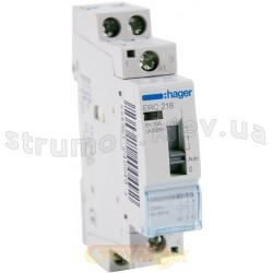Реле Hager ERC218 16A катушка 220V 1NO+1NC (ER120)