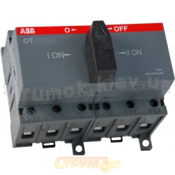 Реверсивный рубильник OT 100 F3C АВВ 1SCA105008R1001