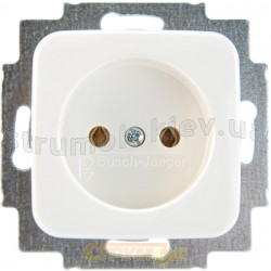 Розетка без заземления 2300UC-214-500 10А ABB Reflex белый цвет