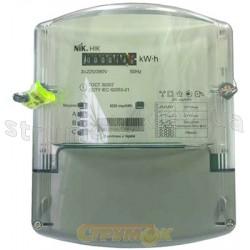 Счетчик электроэнергии 3-фазный НIК 2301 АК1 3х220/380В 5(10) А трансформаторного подключения