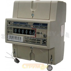 Счетчик 1-фазный ЦЕ 200 R5 145V 5-60A на дин-рейку.