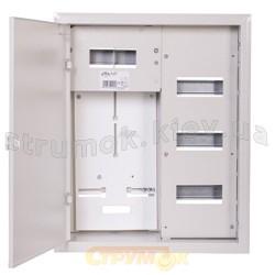Щит металлический встроенный Sabaj RL-36 2 - 076 36 модулей и местом под счетчик электроэнергии