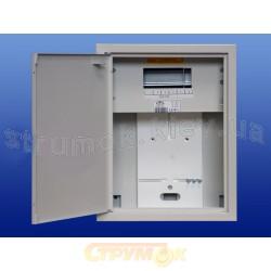 Щит металлический накладной Sabaj NRL-1F 6 на 6 модулей и местом под 1-фазный счетчик электроэнергии 4 - 257