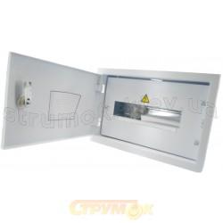 Щит металлический врезной ЩО-12В на 12 модулей IP31 20х318х95 Билмакс Б00000099