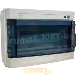 Щит пластмассовый наружной установки на 19 модулей IP55 ELEKTRO-PLAST