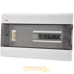 Щит пластиковый на 8 модулей 12057 (врезной) ABB