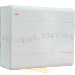 Щит АББ 1SL2438A00 наружной установки 8 модулей белый,IP40