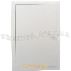 Щит пластиковый на 48(56) модулей для пустотелых стен VU48UA VOLTA (металлическая дверка)