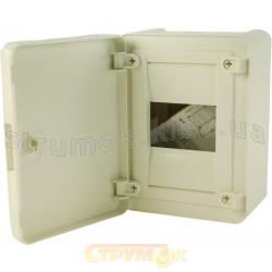 Щит наружной установки с белыми дверцами 8мод.(1х8) GOLF VS108РD
