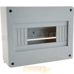 Корпус пластиковый накладной К 9 на 9 автоматических выключателей