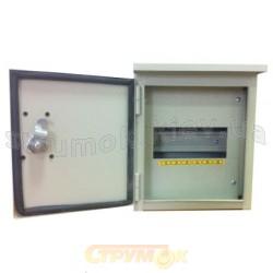 Щит ШМР-6Н NOVA уличный 6 автоматов накладной металлический распределительный