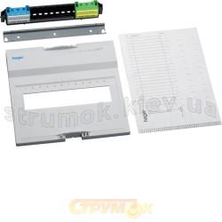 Съемный пакет Hager VOLTA VZ12AVN с клеммами QuickConnect и FI