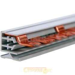 Шина соединительная вилка 3п-12мод/10 мм KDN 363 А