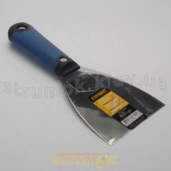 Шпатель или шпательная лопатка из нержавеющей стали 80 мм с плоской ручкой