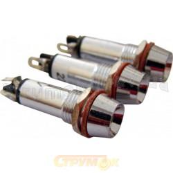 Сигнальная арматура (красная) АD 22В-8 220V АС Укрем АсКо A0140030105