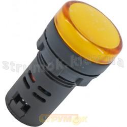 Сигнальная арматура АD22-22DS 24V A/DC желтая АСКО