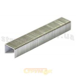 Скобы для степлера закаленные прямые 10х10,6мм, тип J (1000шт.) Berg 24-177