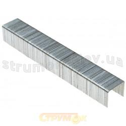 Скобы для степлера закаленные ТЕВТОН тип 53,6мм, 100шт. для механического скобосшивателя