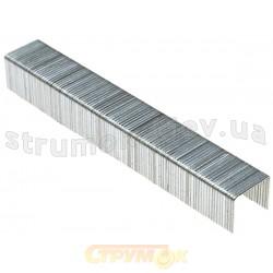 Скобы для степлера закаленные ТЕВТОН тип 53,8мм, 100шт. для механического скобосшивателя