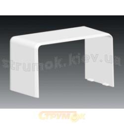 Соединитель на стык PK 90X55 D HB 8402 Копос Чехия белый 8595057688070 для пластикового кабельного короба
